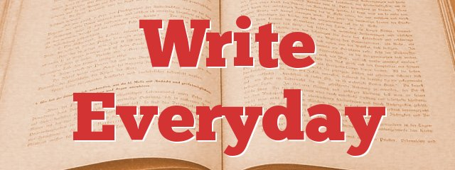 Write Everyday